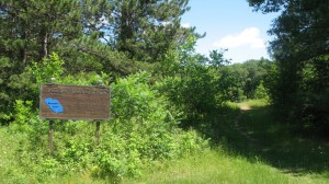 Ice Age Trail in Straight Lake State Park